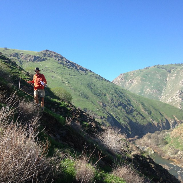 Fieldwork in Southern California